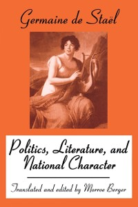 Cover Politics, Literature and National Character