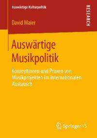 Cover Auswärtige Musikpolitik