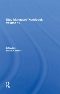 Cover Stud Managers' Handbook, Vol. 18
