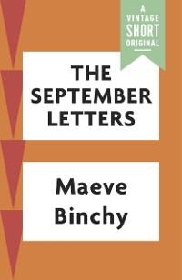 Cover September Letters