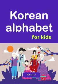 Cover Korean alphabet for kids