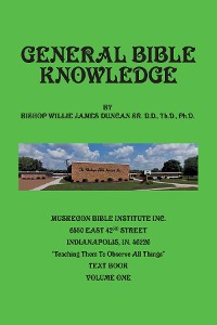 Cover General Bible Knowledge