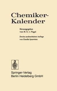 Cover Chemiker-Kalender