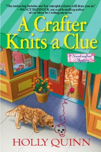 Cover A Crafter Knits a Clue