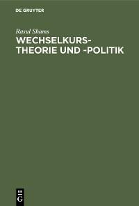 Cover Wechselkurstheorie und -politik