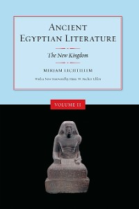 Cover Ancient Egyptian Literature, Volume II