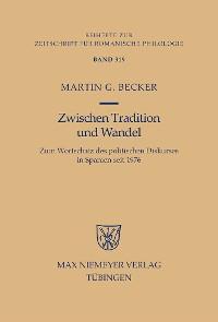 Cover Zwischen Tradition und Wandel