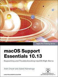 Cover macOS Support Essentials 10.13--Apple Pro Training Series