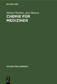 Cover Chemie für Mediziner