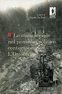 Cover Lo stato sociale nel pensiero politico contemporaneo. Ottocento