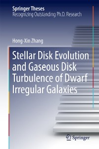 Cover Stellar Disk Evolution and Gaseous Disk Turbulence of Dwarf Irregular Galaxies