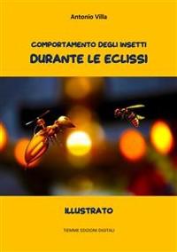 Cover Comportamento degli insetti durante le Eclissi