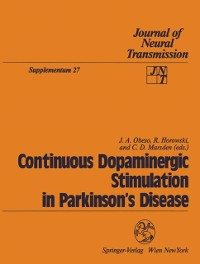 Cover Continuous Dopaminergic Stimulation in Parkinson's Disease