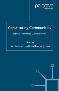 Cover Constituting Communities