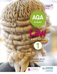 Cover AQA A-level Law for Year 1/AS