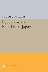 Cover Education and Equality in Japan