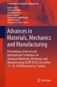 Cover Advances in Materials, Mechanics and Manufacturing