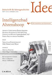 Cover Zeitschrift für Ideengeschichte Heft XII/2 Sommer 2018