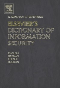 Cover Elsevier's Dictionary of Information Security