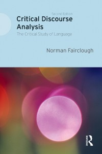 Cover Critical Discourse Analysis