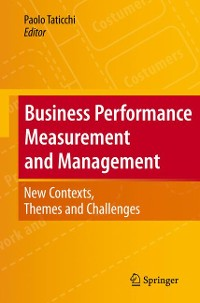 Cover Business Performance Measurement and Management