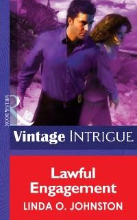 Cover Lawful Engagement (Mills & Boon Intrigue) (Shotgun Sallys, Book 3)