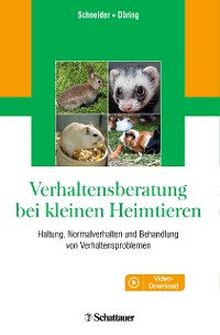 Cover Verhaltensberatung bei kleinen Heimtieren