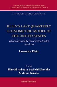 Cover Klein's Last Quarterly Econometric Model Of The United States: Wharton Econometric Model Mark 10