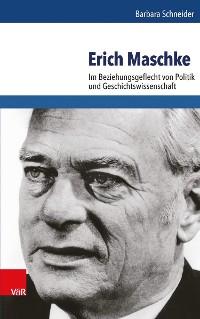 Cover Erich Maschke