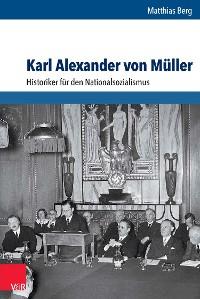 Cover Karl Alexander von Müller