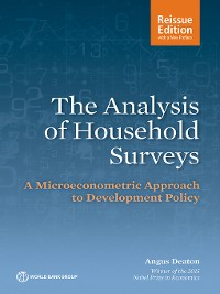 Cover The Analysis of Household Surveys (Reissue Edition with a New Preface)