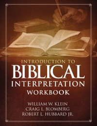 Cover Introduction to Biblical Interpretation Workbook