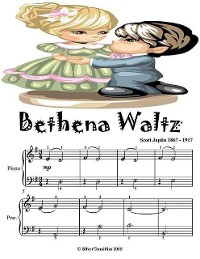 Cover Bethena Waltz - Easiest Piano Sheet Music Junior Edition