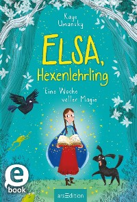 Cover Elsa, Hexenlehrling - Eine Woche voller Magie
