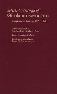 Cover Selected Writings of Girolamo Savonarola