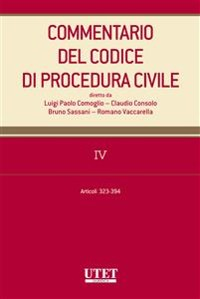Cover Commentario al codice di procedura civile - vol. 4