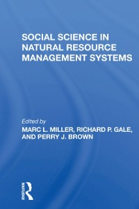 Cover Social Science In Natural Resource Management Systems