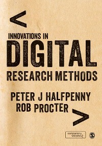 Cover Innovations in Digital Research Methods