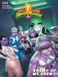 Cover Mighty Morphin Power Rangers, Issue 52