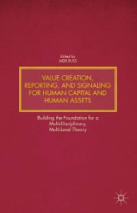 Cover Value Creation, Reporting, and Signaling for Human Capital and Human Assets
