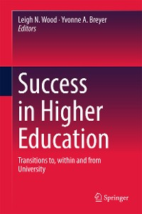 Cover Success in Higher Education