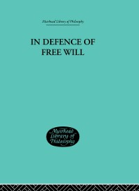 Cover In Defence of Free Will