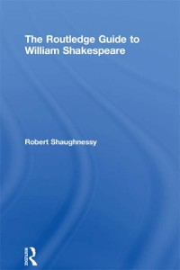 Cover Routledge Guide to William Shakespeare