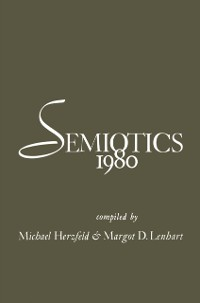 Cover Semiotics 1980