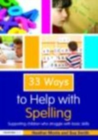 Cover 33 Ways to Help with Spelling