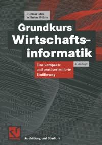 Cover Grundkurs Wirtschaftsinformatik