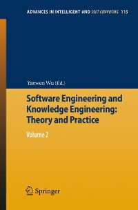 Cover Software Engineering and Knowledge Engineering: Theory and Practice