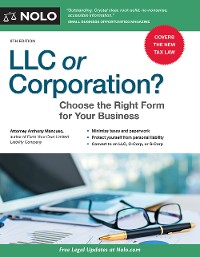 Cover LLC or Corporation?