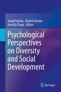 Cover Psychological Perspectives on Diversity and Social Development