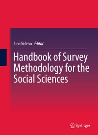 Cover Handbook of Survey Methodology for the Social Sciences